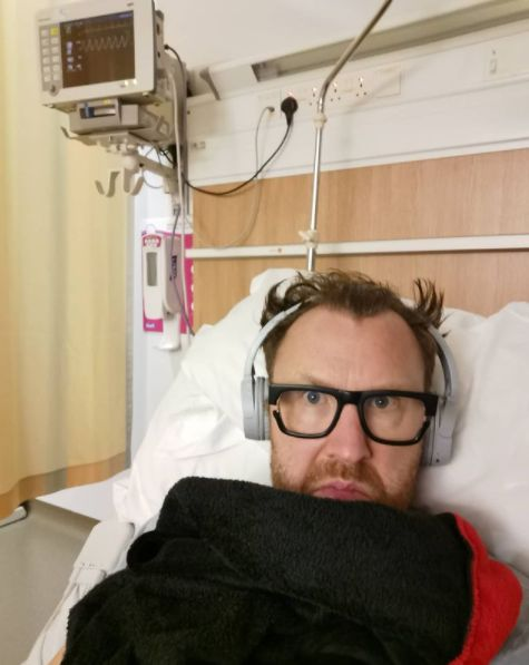 Comedian Jason Byrne in hospital after his heart operation