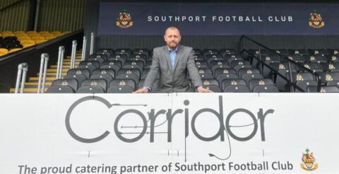 Corridor offers Southport FC fans 15% off food after becoming club's new catering partner