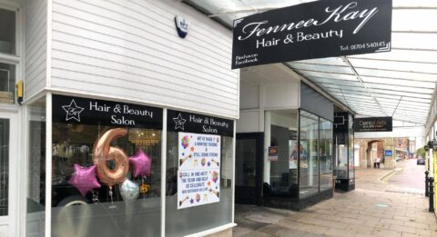 Hair and beauty salon on Lord Street in Southport celebrates first six months in business