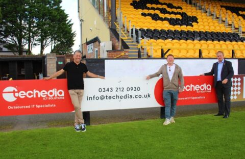 IT specialist Techedia announced as Southport FC's main shirt sponsor