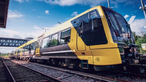 New Merseyrail train on show at Southport Railway Station this Saturday
