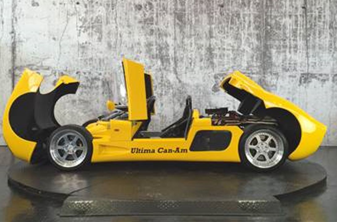 An Ultima Can-Am is among cars apearing at Southport Classic and Speed at Victoria Park in Southport